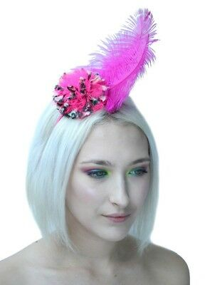 Pom Pom Feather Crown Headband Festival  Kera Headdress Handmade By Gobbolino