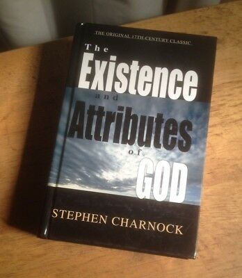The Existence And Attributes Of God Stephen Charnock Hc Very Good