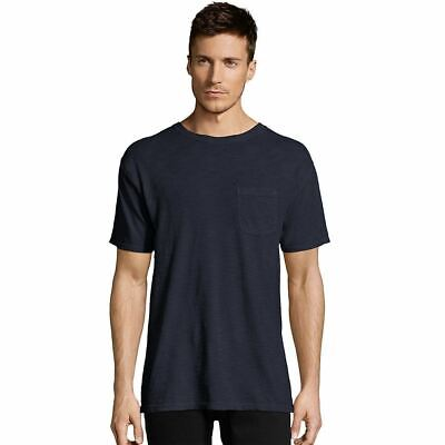 Hanes TALL Men's 1901 Heritage Dyed Pocket T-Shirt - 10 COLORS - LT-3XLT
