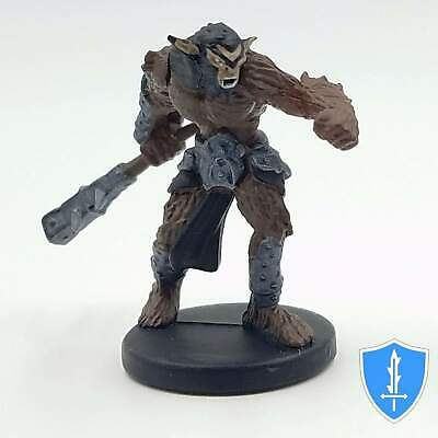 8x Dungeons /& Dragon D/&D game Tyranny of #21 BUGBEAR /& fighter Miniatures figure