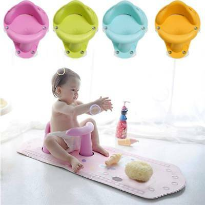 Safety Baby Bath Tub Ring Seat Support Infant Child Toddler Kids Anti Slip Chair