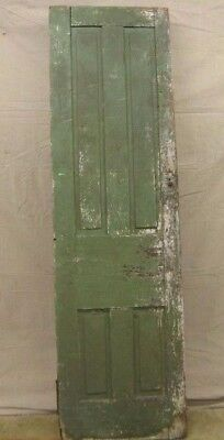 ANTIQUE EARLY 1800s NARROW PANELLED PANTRY CHIMNEY CUPBOARD CABINET DOOR