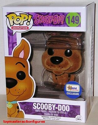 FUNKO POP ANIMATION SCOOBY-DOO (FLOCKED) SCOOBY DOO #149 Gemini Figure IN STOCK