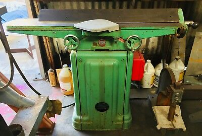 """Vintage Delta Model 37-220 6"""" Deluxe Jointer (1960)Made By: Rockwell in the USA"""
