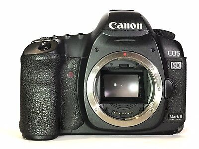 Canon EOS 5D Mark II 21.1MP DSLR Camera - Black (Body Only) (2764B003) - Used