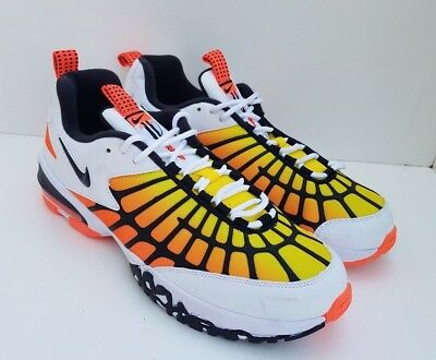 best service a5fe8 5447e NEW NIKE AIR Max 120 OG Hyper Orange Yellow Athletic Shoes 819857-100 Mens  10.5