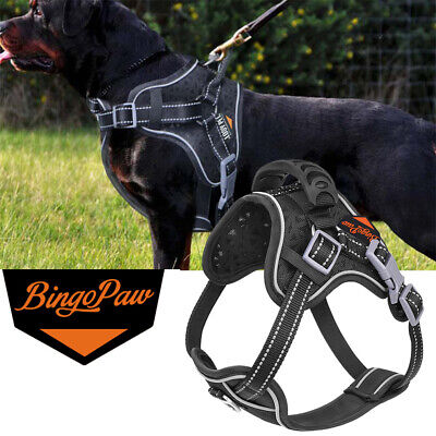 Tactical Dog Excursion K9 Training Patrol Vest Harness, Extra Large-Medium Size