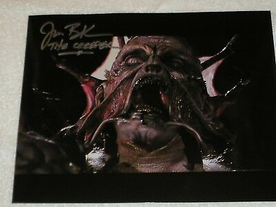 jonathan breck autograph jeepers creepers license plate signed jsa