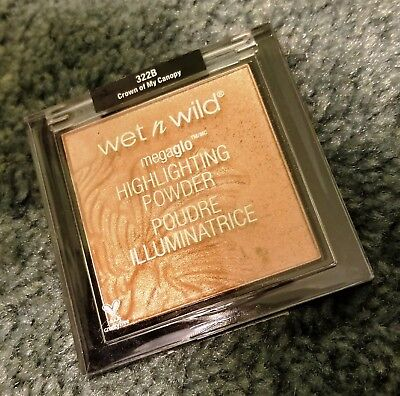 NEW! Wet n Wild MegaGlo Highlighting Powder in Crown of My Canopy