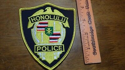 Honolulu Hawaii  Police Department   Obsolete  Patch Bx 2 #11