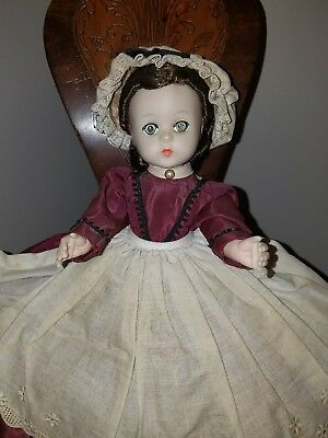 "Vintage Madame Alexander ""Marme"" Doll, Little Women 1950's"