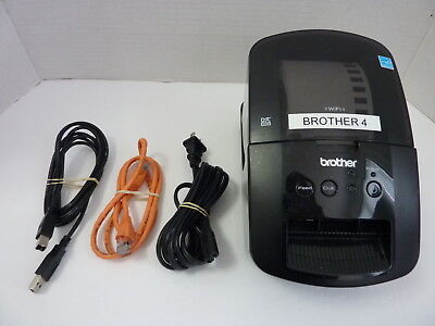 Brother QL-720NW High-speed Wireless Thermal Label Printer w/ Labels - (Tested)