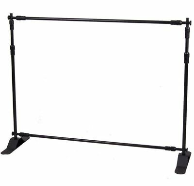 4ft-8ft Width 4ft-8ft Height Adjustable Step And Repeat Advertising Banner Stand