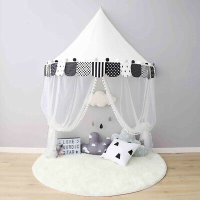Baby Bed Canopy Kids Room Tent Crib Mosquito Net Children Reading Activity Tipi