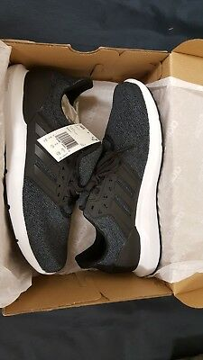 half off 2c055 45ffe Adidas Mens Solyx BlackCarbon Running Shoes CP9341 NEW!