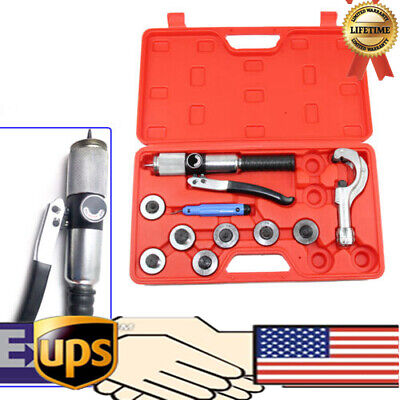 Hydraulic Tube Expander Swaging 7 Lever Tubing Expander Tools Kit HVAC Tool NEW