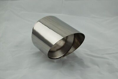 Exhaust End Pipe End Pipe BMW Z4 3 15/16in V2a Stainless Steel High Polish
