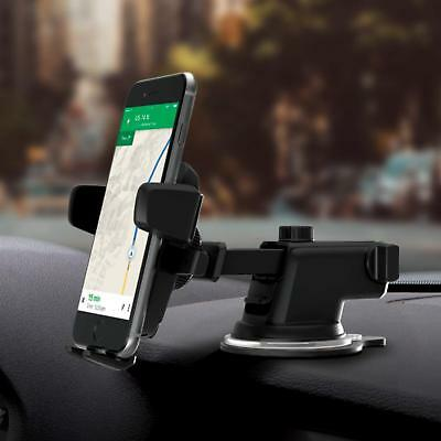 LESHP Universal&Black Cell Phone Holder Car Mount Stand for iPhone/Samsung LOT