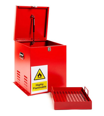 Sentribox F18 SECURE FUEL CHEMICAL GAS COSHH STORAGE BOX