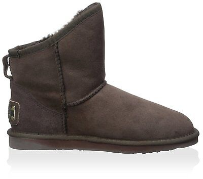 Australia Luxe Collective Chestnut Suede Cosy Short Sheepskin Boots 5 6 7 £185
