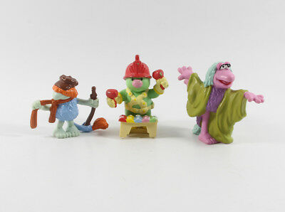 Fraggle === Fraggles Rock 3 x Figuren Applause incl. Doozer