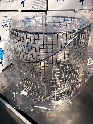 Drywite Stainless Steel Heavy Duty Chip Bucket Chip Basket  225