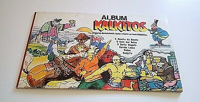 Vintage 1979 Very Rare Kalkitos Album Unused! Hanna Barbera productions inc
