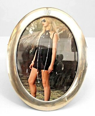 Vintage Brass Mini Picture Frame Victorian Style Oval 995 Picclick