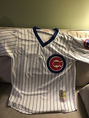 4b32f82c5 Rare Home Chicago Cubs Bill Buckner 1980s Sewn Stitched Jersey Retro   Throwback