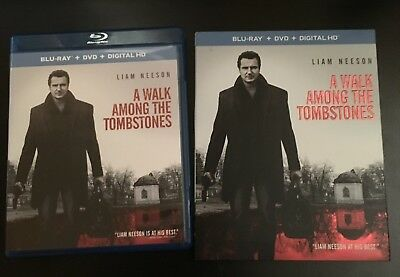 A Walk Among the Tombstones (Blu-ray/DVD, 2015, 2-Disc Set) w/ Slipcover