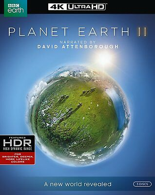 Planet Earth II (Blu-Ray - 4K Ultra HD & Regular, 2017)