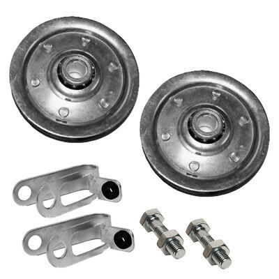Garage Door Pulley And Safety Cable Complete Hardware Kit For Ext