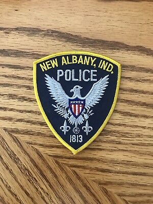 New Albany Indiana Police Patch