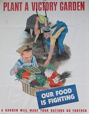 "WWII ""Help Him-Help Yourself For Victory"" US army War Bond Poster. Original 1943"