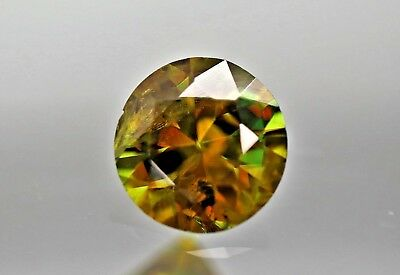 Vs,1.25Ct Extremely Fine Top Lustrous  Multi Color Sphene From Pakistan Sakrdu.
