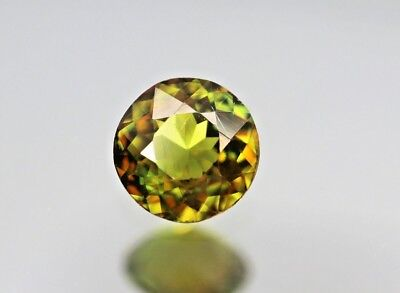 Vs,0.95Ct Extremely Fine Top Lustrous  Multi Color Sphene From Pakistan Sakrdu.