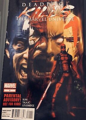 DEADPOOL KILLS THE MARVEL UNIVERSE 1 2 And 4 1st Prints Mini Series