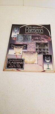 Florences Glassware Pattern Identification Guide Autographed by Gene Florence