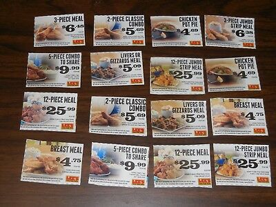 16 Lee S Famous Recipe Chicken Coupons 1 50 Picclick