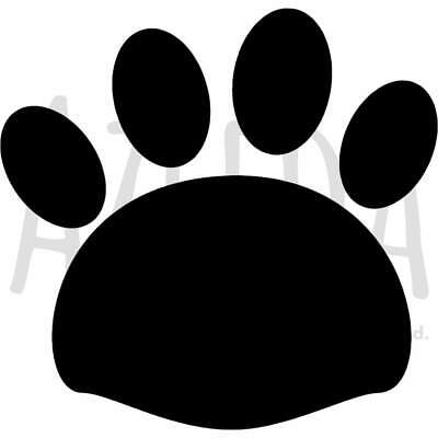 Template Large A2 Pair Of Footprints Wall Stencil WS00037473