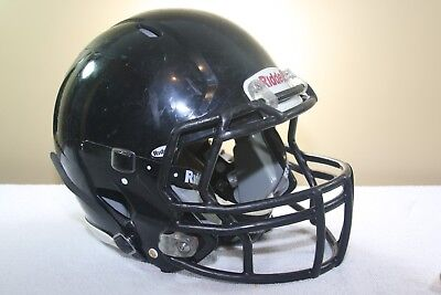 Riddell Youth SPEED Game Used Worn Football Helmet Black Small 2012 12 EXTRAS