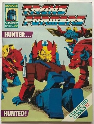 MARVEL Transformers: HUNTER/HUNTED Summer Special COLLECTED COMICS #12 JUNE 1989
