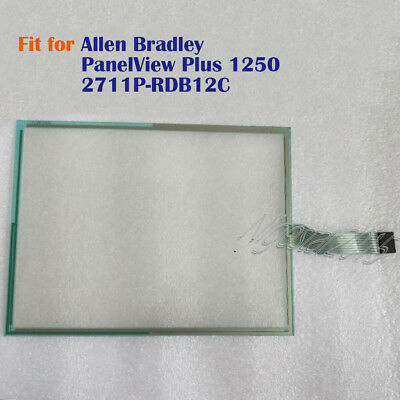 New for AB Allen Bradley PanelView Plus 1250 2711P-RDB12C Touch Screen Glass