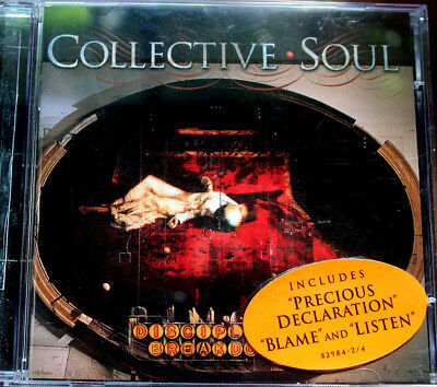 Collective Soul - Disciplined Breakdown Cd New Sealed