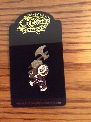 Disney Auction Pins Nightmare Before Christmas Barrel Limited Edition 250