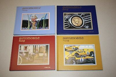 Automobile Quarterly Volume 40 Numbers 1-4 - Published Year 2000