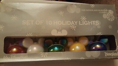 disney world 10 light string of mickey mouse christmas holiday lights