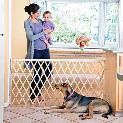 Safety Gate Baby Toddler Safe, Pet Dog Cat Fence,  Swing Wide Gate, OPENED BOX