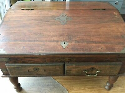 Antique Indian Writing Desk Box