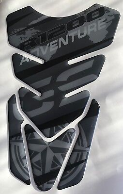 Paraserbatoio BMW R1200 GS Adventure TRIPLE BLACK resinato R1200GS Tank Pad moto